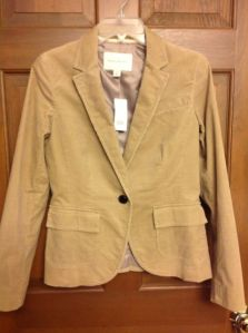 this is actually a pic of my Banana Republic blazer I found on ebay.