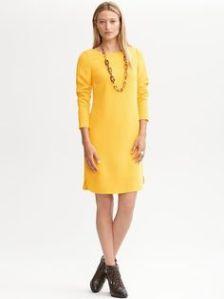 3/4 length sleeve BR dress