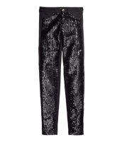 sequin front pants, $7.50