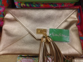 Lily Pulitzer clutch $168