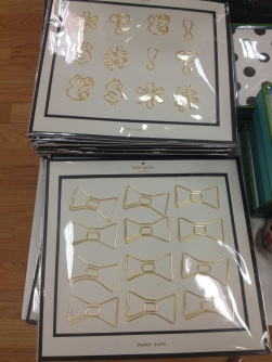 Kate spade paper clips $12