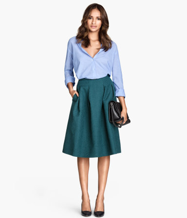 H&M Crinkle Skirt $34.95