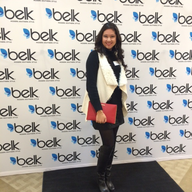 at Belk's spring fashion preview
