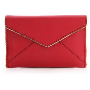 Rebecca Minkoff-Leo envelope clutch