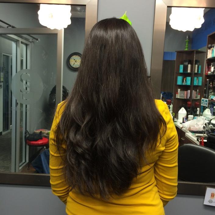 My Virgin Hair!
