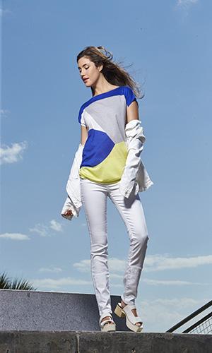 Calvin Klein: Jacket $98, Tee $39.50, Denim $69.50