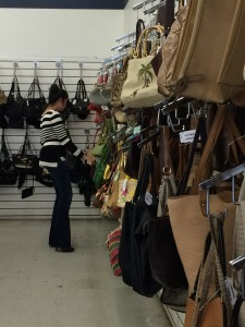 Here I am looking for a Louis Vuitton! ha! Seriously though. I was. You just never know! Source: America's Thrift Stores.